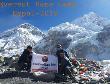 Everest base camp, kalapatthar trek